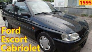 Ford Escort Cabriolet // Авто в Германии