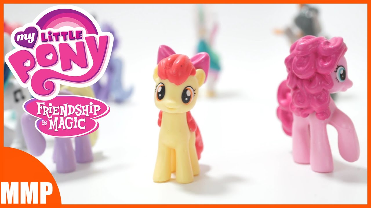 My Little Pony TOYS ; Pinkie Pie, Apple Bloom, and more