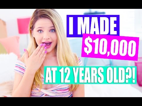 How I Made Thousands of Dollars at 12 YEARS OLD!