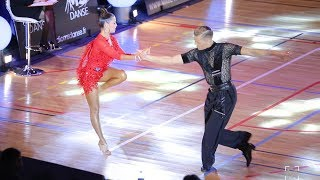 William Gauthier - Marie Denigot Hamon FFD French Cup 2018 Mulhouse Adult Latin solo S