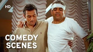 Comedy King Paresh Rawal Scenes | Mere Baap Pehle Aap | Akshay Khanna | Hindi Comedy Movie