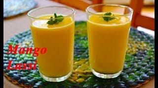 Mango Lassi | Indisches Getränk mit Mango & Joghurt | By Neetu Suresh