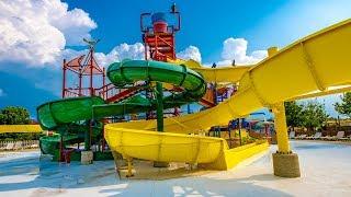 """Kids Water Slides """"Kangaroo Falls"""" at Raging Waves"""