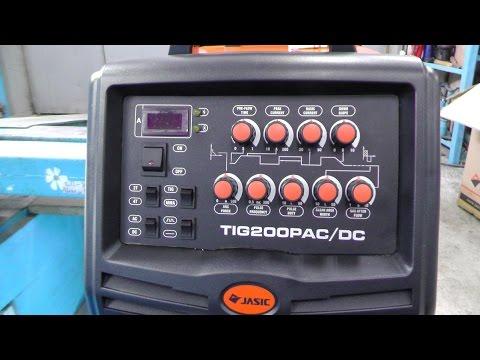 Аргонодуговой сварочный аппарат JASIC TIG PRO 200P AC/DC