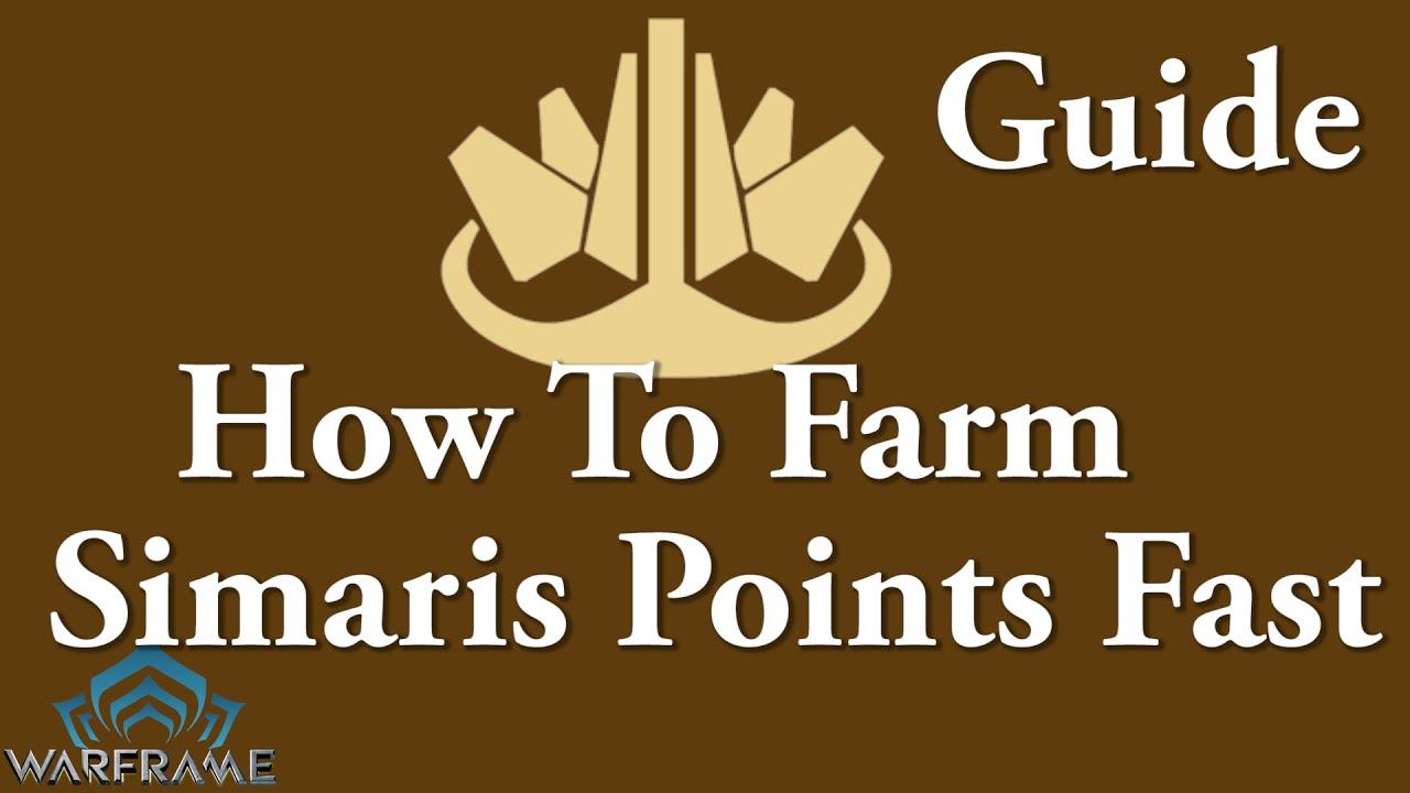 Warframe How To Farm Simaris Points Fast Youtube