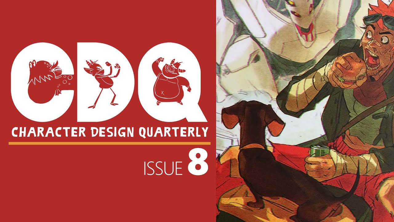 Cdq Character Design Quarterly Magazine Issue 8 Quick Look