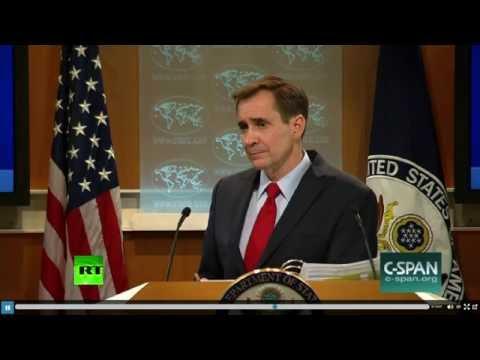 RT's Gayane Chichakyan and John Kirby spat over Syria, Saudi and Yemen (Full video)