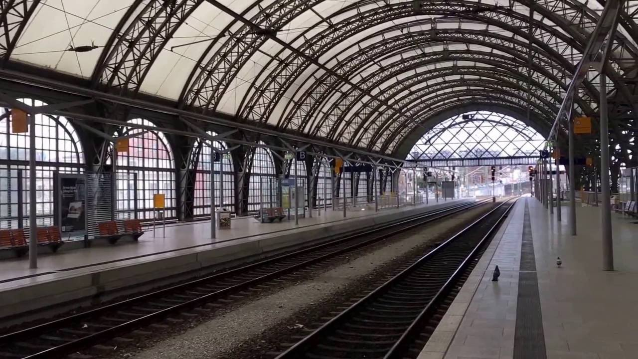 Dresden Main Railway Station - Dresden HauptBahnhof #1