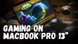 gaming on 2017 MacBook Pro 13