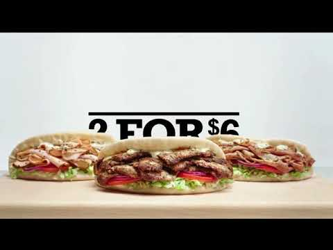 Arby's 2 for $6 Gyros TV Commercial, 'Need a Gyro' Song by Bonnie Tyler