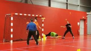 séance spécifique gardien handball