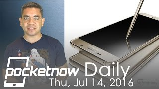 Galaxy Note 7 Iris scanner issues, iPhone 7 leaked backs & more - Pocketnow Daily