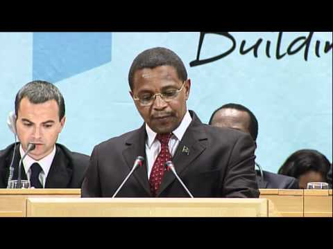 Jakaya Mrisho Kikwete, President of Tanzania,  Addresses the 100th International Labour Conference