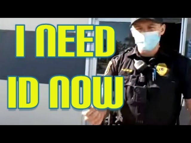 Cop demands ID and gets denied cops don't know the law know your rights 1st amendment audit fail