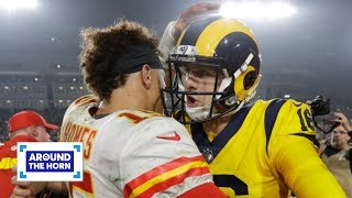 Was Chiefs vs. Rams the greatest regular-season NFL game of all time? | Around the Horn