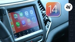 Everything New with CarPlay in iOS 14