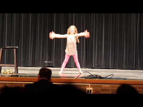 """Shake it Off"" talent show performance"