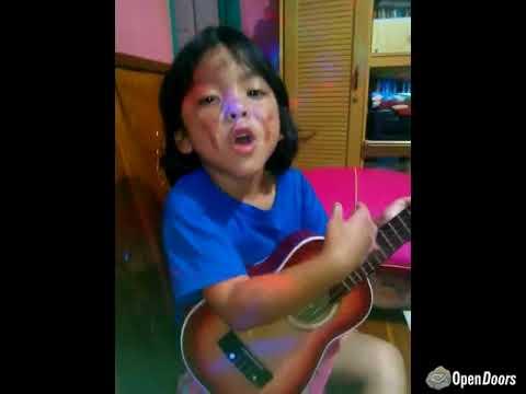 "Indonesia: Bomb blast survivor, Trinity (5), sings ""I'm happy to be God's child."""