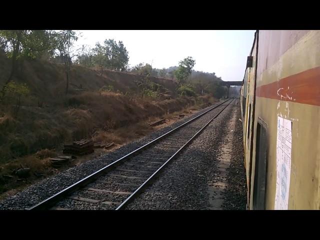 FURIOUS KONKAN RAILWAY : Karmali - LTT AC Superfast Express