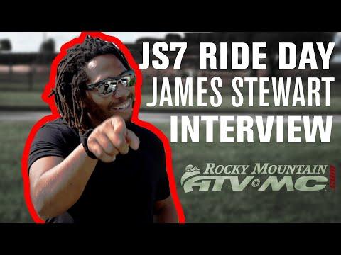 2019 JS7 Ride Day EXCLUSIVE Interview w/ James Stewart