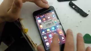 Тачскрин Gsmart Guru G1 как поменять сенсор? Ремонт дисплейного модуля на телефоне Gsmart
