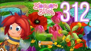 Blossom Blast Saga Level 312 No Boosters