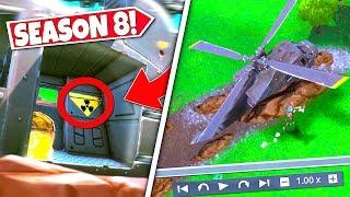 new secret moving helicopter destroyedafter crash landing exposes huge plans season 8 update
