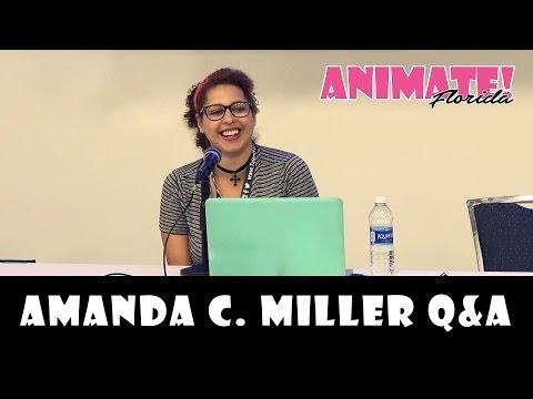 Amanda C. Miller Q&A at Animate Florida 2016