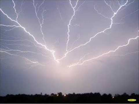 Thunderstorms and lightning youtube