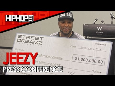 Jeezy's Street Dreamz Foundation Donates $1,000,000 To The Jay Morrison Academy (HHS1987 Exclusive)