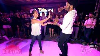 Terry SalsAlianza & Magna Gopal - Salsa social dancing | IIDF 2018