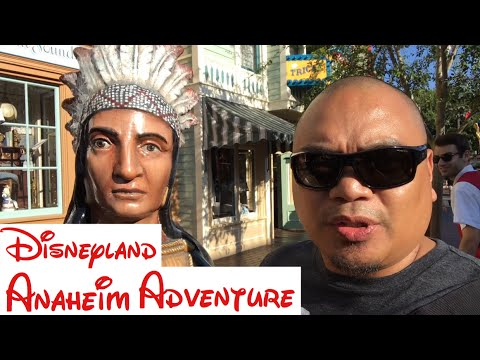 Eric B's Daily Vlogs #158 - Oceanic Arts, Antiques at orange and Disneyland day one