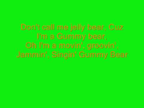 gummy bear song full song english lyrics youtube. Black Bedroom Furniture Sets. Home Design Ideas