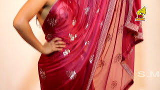 Repeat youtube video How To Wear Saree Priyanka Chopra Saree Style Draping Wrap Hot Dly Style Sarees 1
