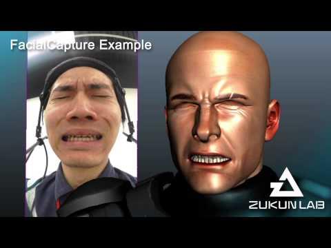 """東映 ツークン研究所 フェイシャルキャプチャ ZUKUN LAB."""" FacialCapture Example"""""""