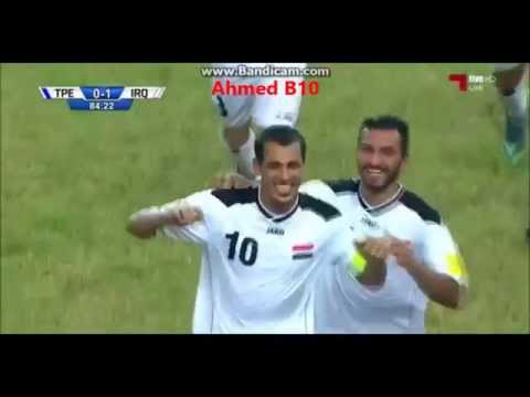Iraq vs Taiwan 2-0 All Goals and highlights ~ 17-11-2015