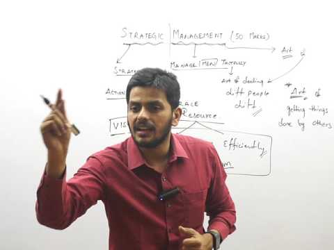 Introduction to Strategic Management by CA Harish Krishnan