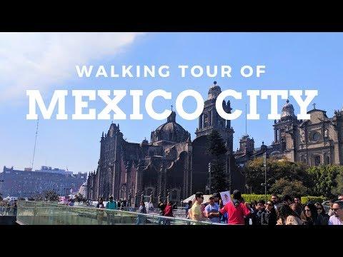 Mexico City Travel Vlog: Free Walking Tour