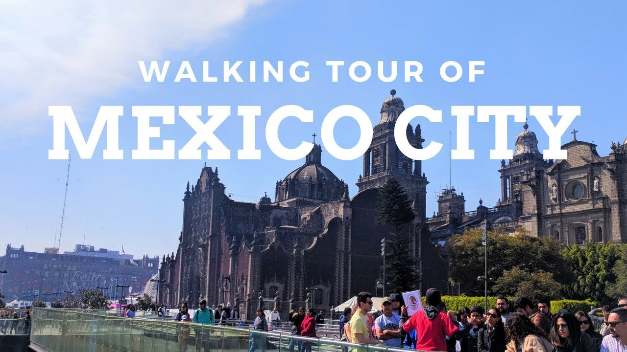 Mexico City Travel Vlog: Free Walking Tour