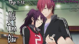Nhạc Phim Anime || Mối Tình Đầu Của 4 Chàng Trai S1 (Tập 1-12) - Anime Tình Cảm Học Đường Hay Nhất