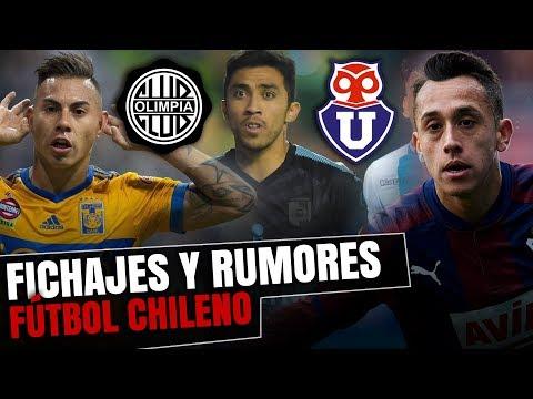 FICHAJES & RUMORES 2019: FÚTBOL CHILENO | Primera A, Primera B, Internacional