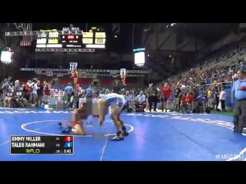 160 Cons. Round 7 - Taleb Rahmani (Ohio) vs. Jimmy Miller (Pennsylvania)