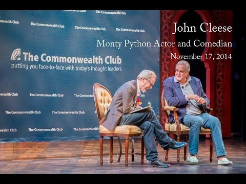 UNCUT John Cleese  Monty Python Actor and Comedian 11172014