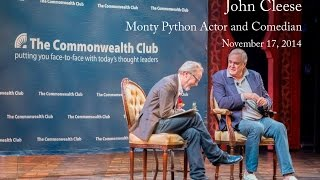 UNCUT John Cleese - Monty Python Actor and Comedian (11/17/2014)