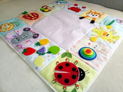 Развивающие для малышей коврики своими руками