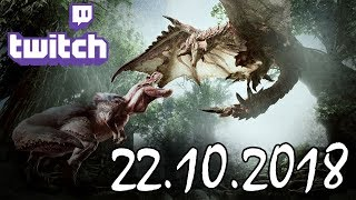 Stream vom 22.10.2018 – Monster Hunter World