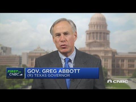 Texas Governor Greg Abbott speaks with CNBC about Apple's new Austin campus