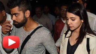 (VIDEO)Anushka Sharma Virat Kohli Return From Sydney EXCLUSIVE