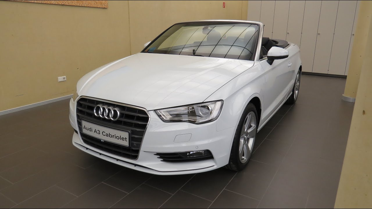 2015 audi a3 ambiente cabrio 1 4 tfsi cylinder on demand ultra youtube. Black Bedroom Furniture Sets. Home Design Ideas