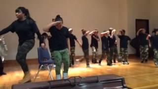 Blackshear's 2nd Grade Black History Month Dance